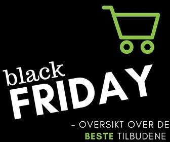 Disse har tyvstartet Black Friday-salget og kjører gode tilbud allerede NÅ!